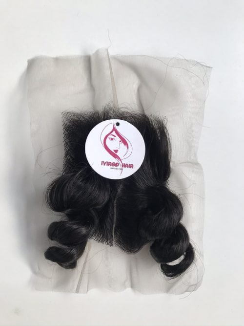 10 inches body wavy closure 1b