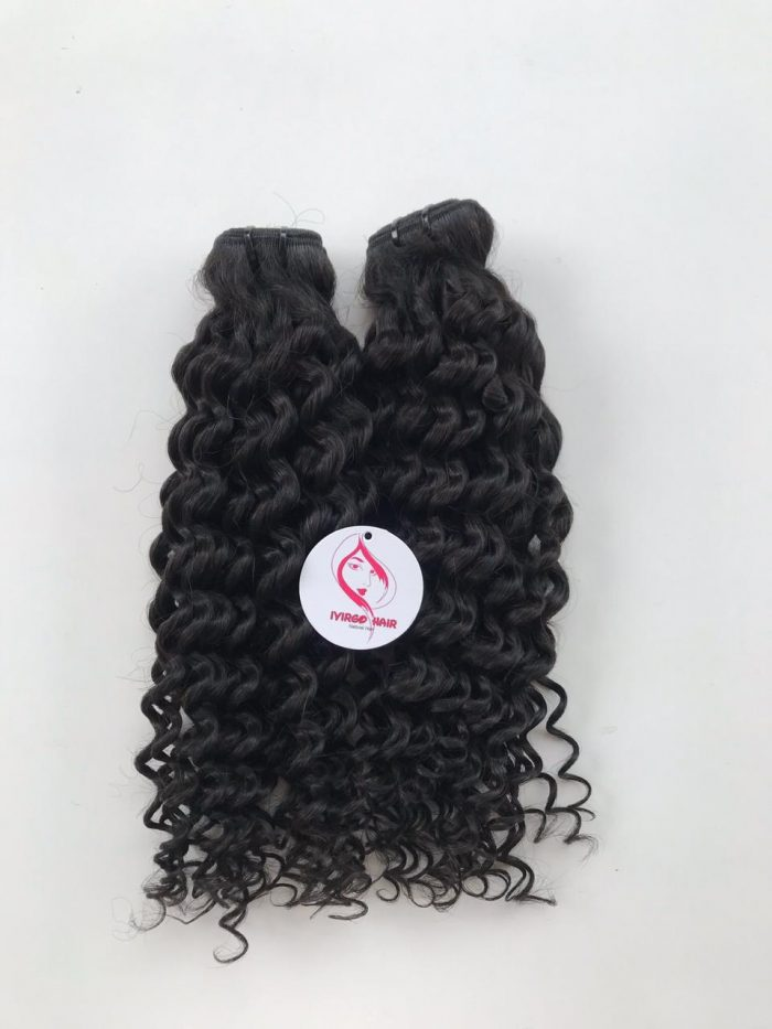 16 inches loose curly weft 1b