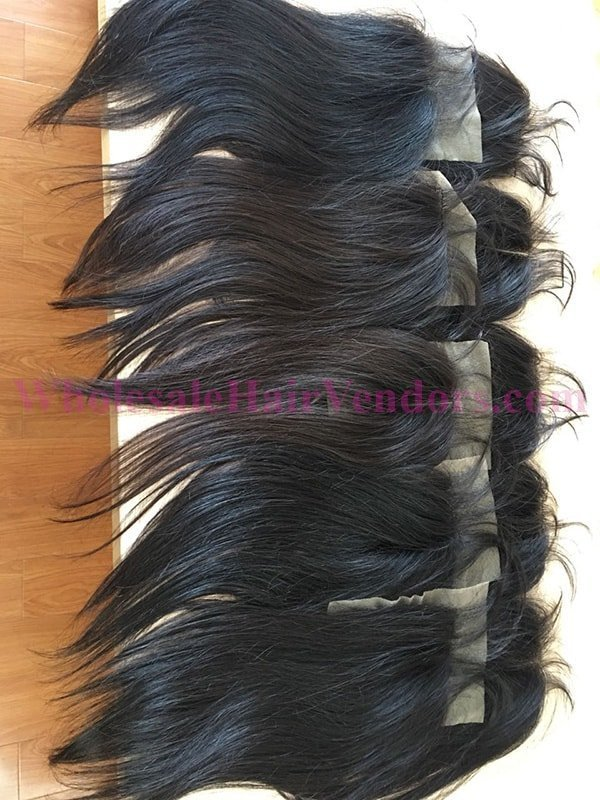 Natural black lace closure