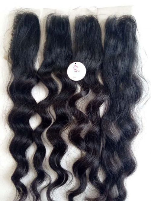 Closure 2″6″ natural wavy 22″