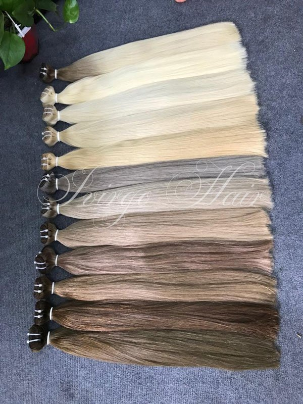 Cold shade weft straight - 22 inches hair