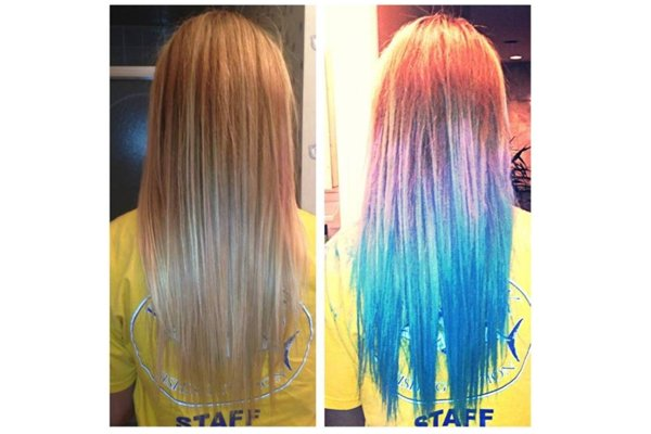 Bleaching your hair will make your hair color more beautiful, but it will also fade quickly