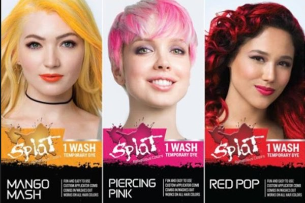 All the color will wash off if you keep washing your hair