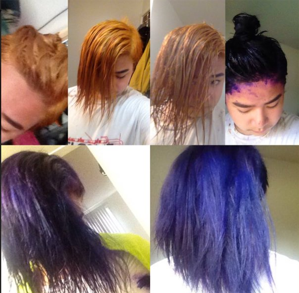 Take care of your hair to make the color last longer